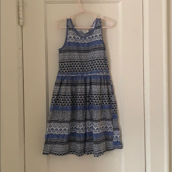 H&M Other - Multi-print Blue Dress